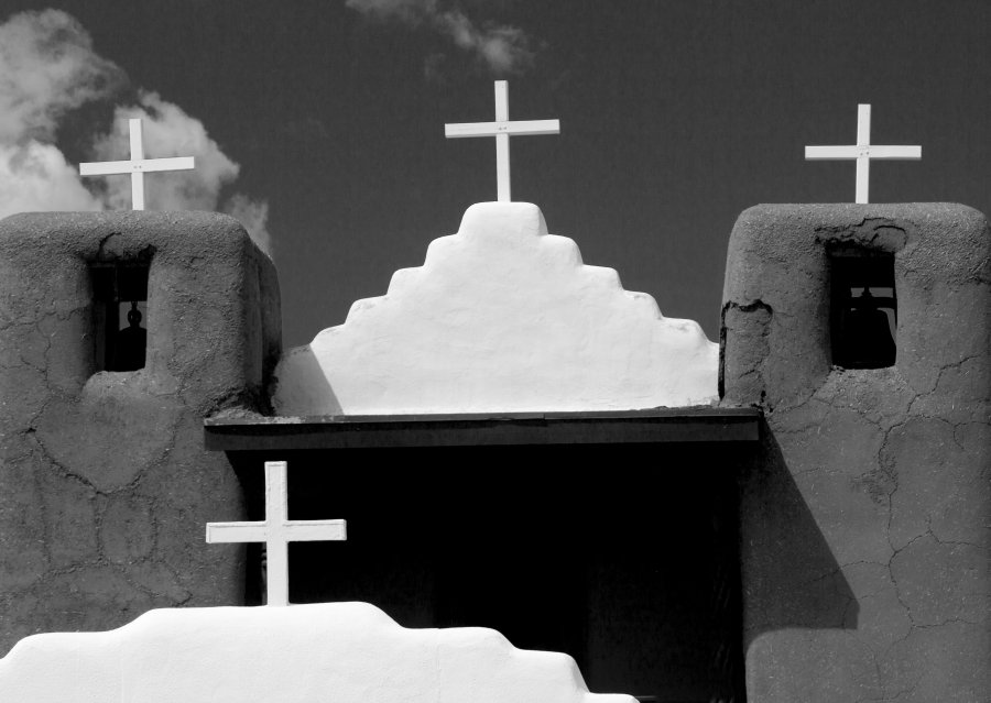 Advanced Prints ~ Honorable Mention ~ Mike Lux ~ Pueblo Crosses