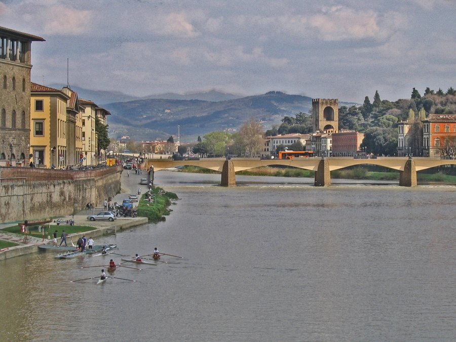 Novice Prints ~ 2nd Place ~ Kate Woodward ~ View of Florence