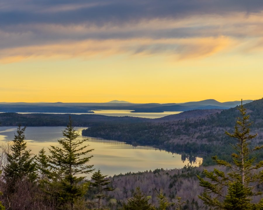 Novice Print ~ Honorable Mention ~ Larry Gold ~ Acadia Morning