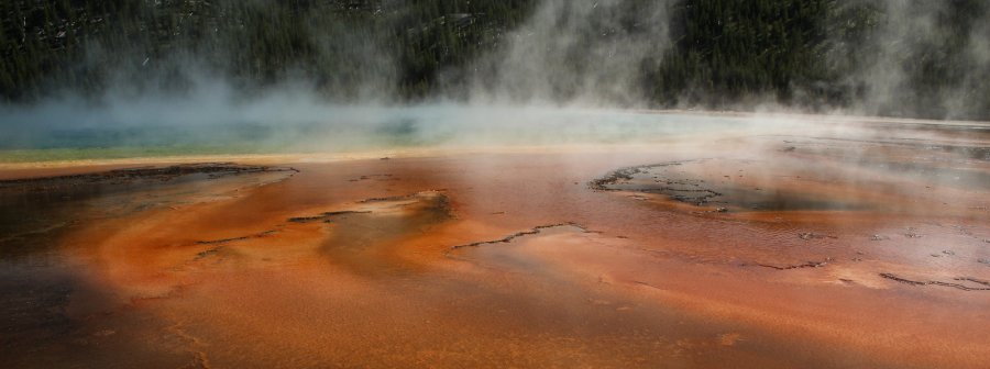Novice Projected ~ Honorable Mention ~ Kate Woodward ~ Grand Prismatic Spring, Yellowstone