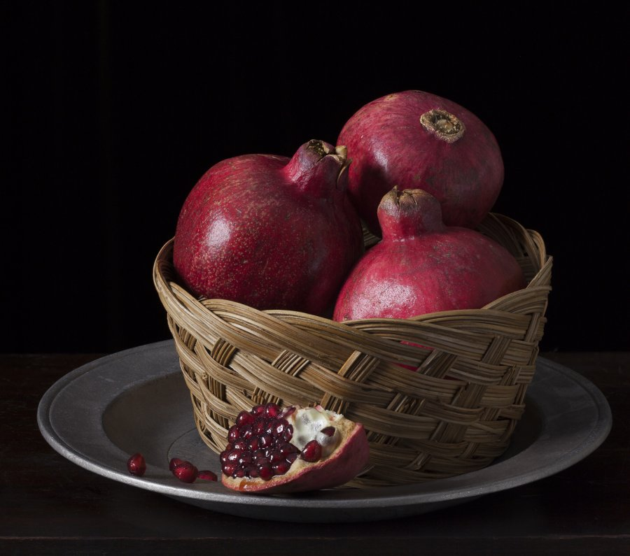 Advanced Projected ~ Honorable Mention ~ Coriolana Simon ~ Still Life with Pomegranates and Basket