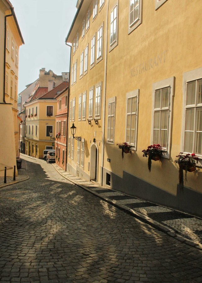 Novice Print ~ 3rd Place ~ Kate Woodward ~ Prague Street