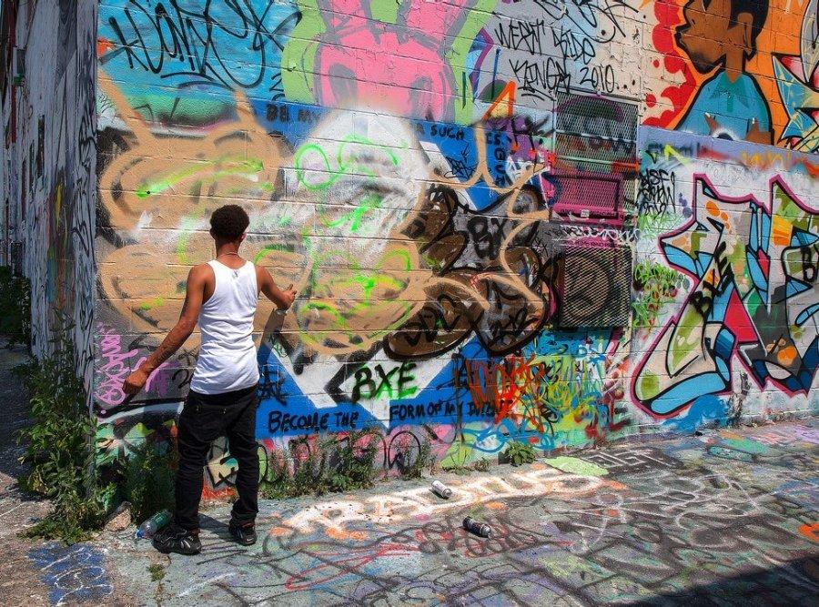 Novice Print ~ Oliver Morton ~ Baltimore Graffiti
