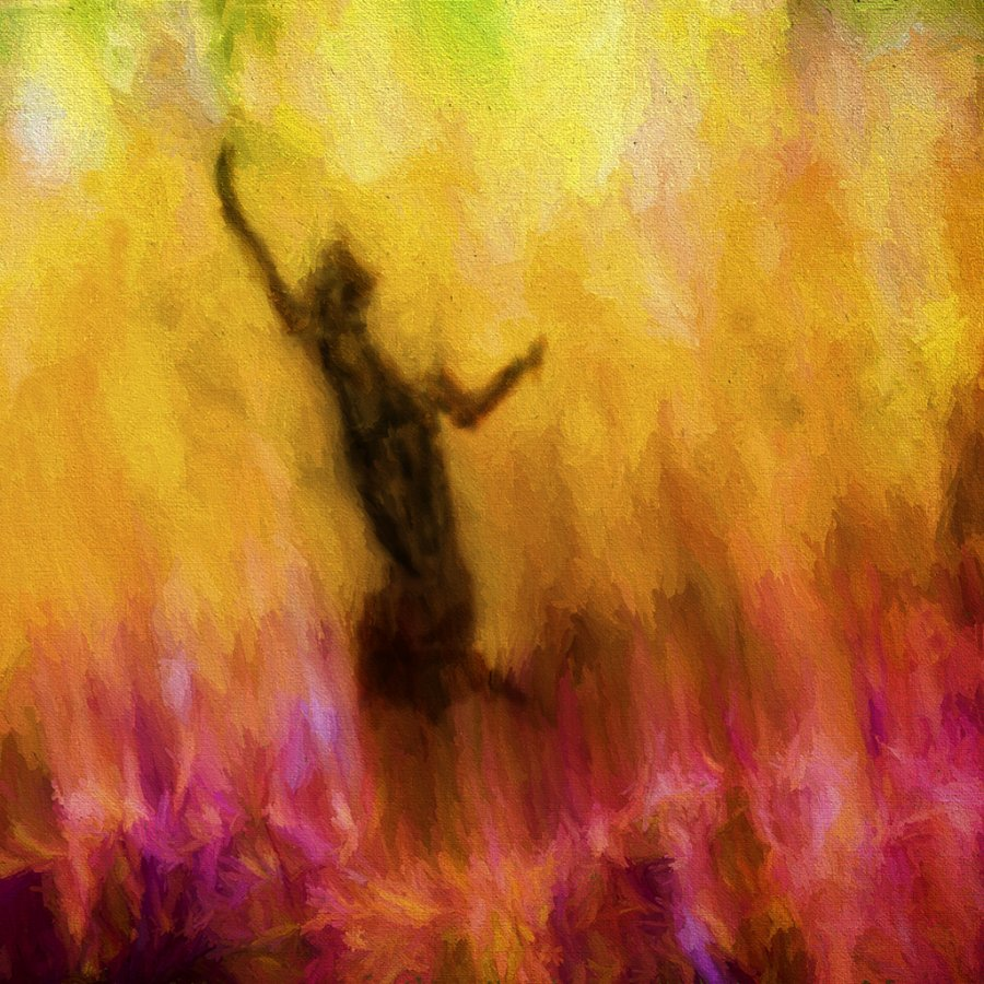 Advanced Print ~ Charles Bowers ~ Phoenix Rising
