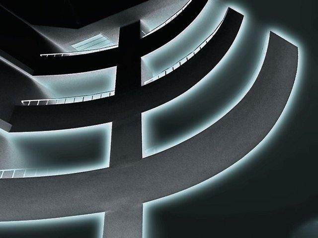 Novice Projected ~ Laurel Sharf ~ Cool Hallway Steps