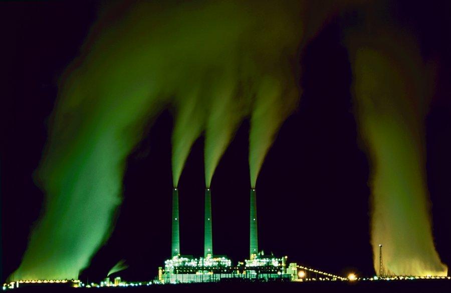 Open ~ Advanced Projected ~ John L Telford ~ Coal Plant
