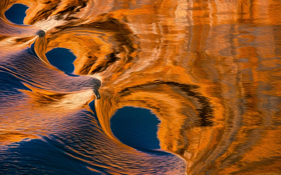 Open ~ Advanced Projected ~ John L Telford ~ Swirls