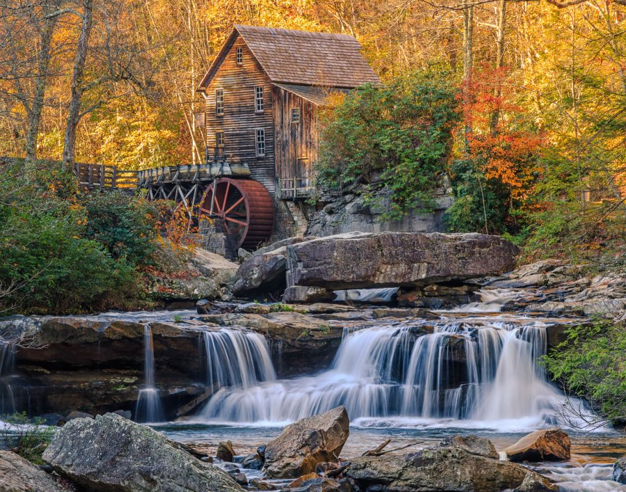 Advanced Print ~ David Terao ~ Glade Creek Grist Mill