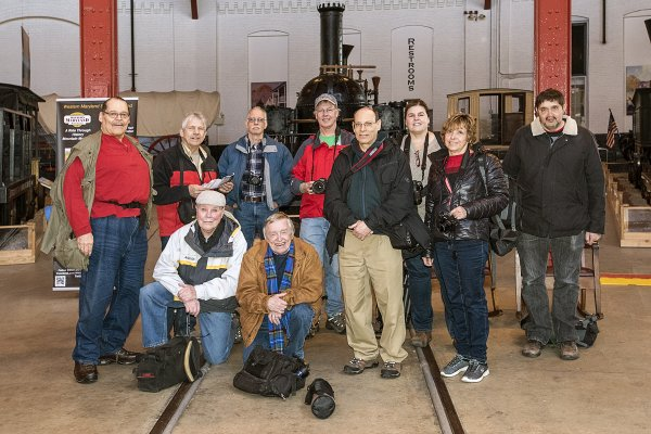 B&O Railroad Museum Field Trip - March 18, 2017