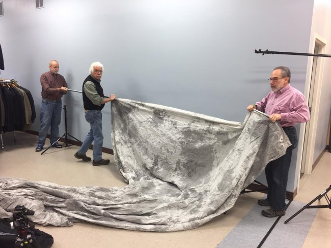 Help Portrait Event Setup