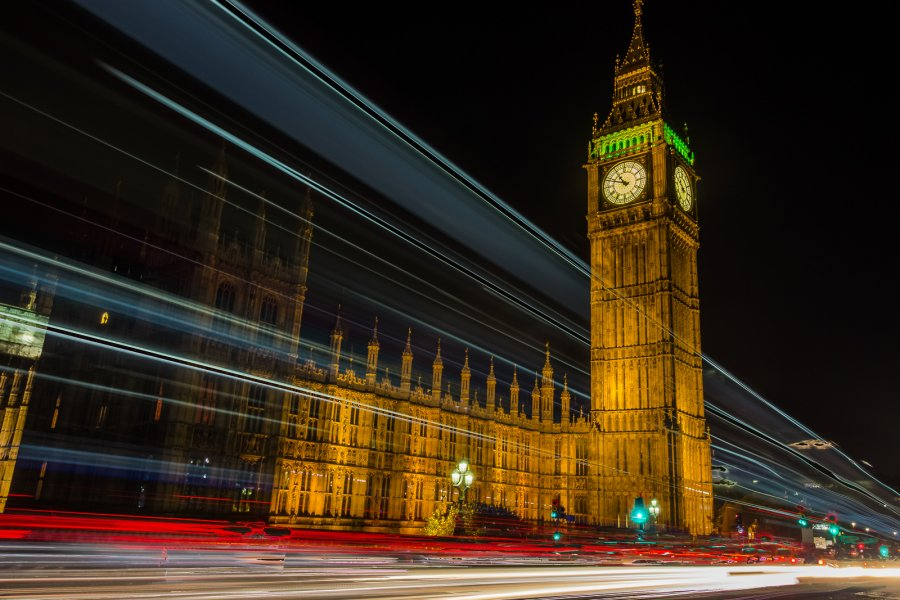 Novice Projected ~ James Ragucci ~ Westminster Light Trail