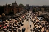Jim Rogers, View from Charminar, Hyderabad, India