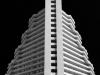 Mark Ratner - Pyramid-hotel- bw