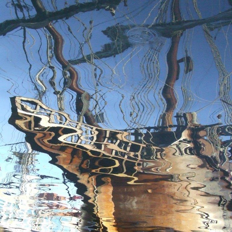 Kay Carkhuff, Harbor Reflection