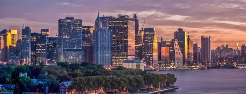 Larry Burton, Manhattan at Dawn