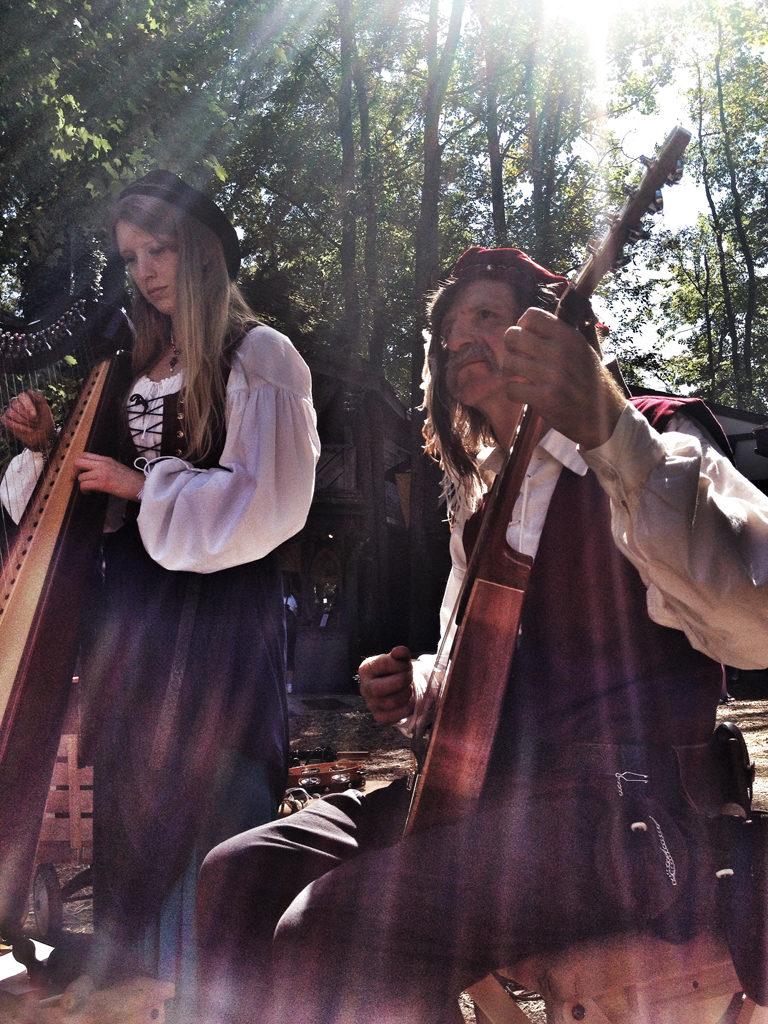 Musicians at MD Renaissance Festival